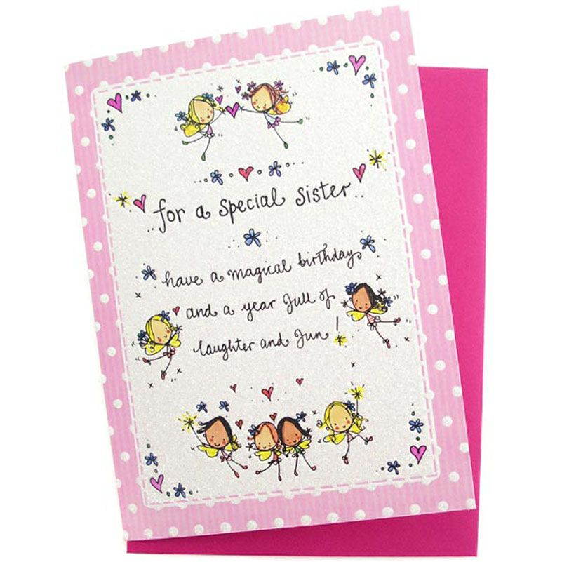 Happy Birthday cards for sister with images – Birthday Card for Sister