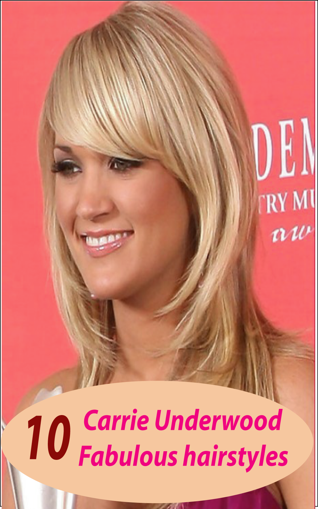 10 Carrie Underwood Fabulous Hairstyles You Ll Want To Copy Now