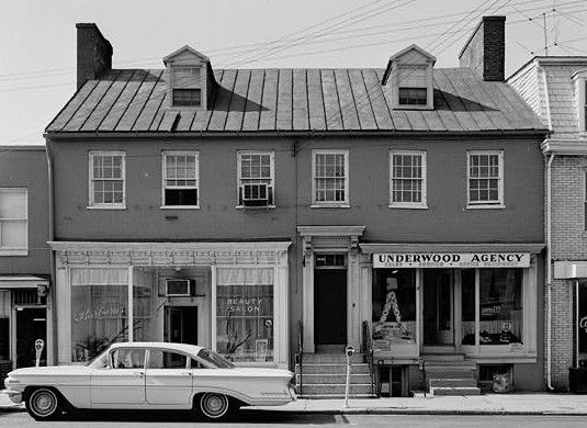 31-33 West Street, 1964. Photograph by Jack Boucher