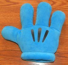 Disney Parks Plush Mickey Hand Blue