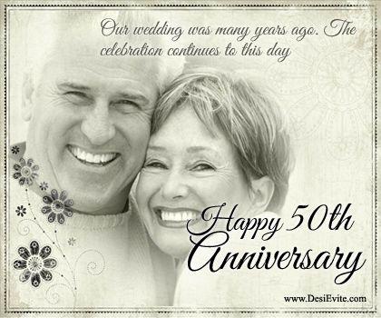 50th wedding anniversary e cards
