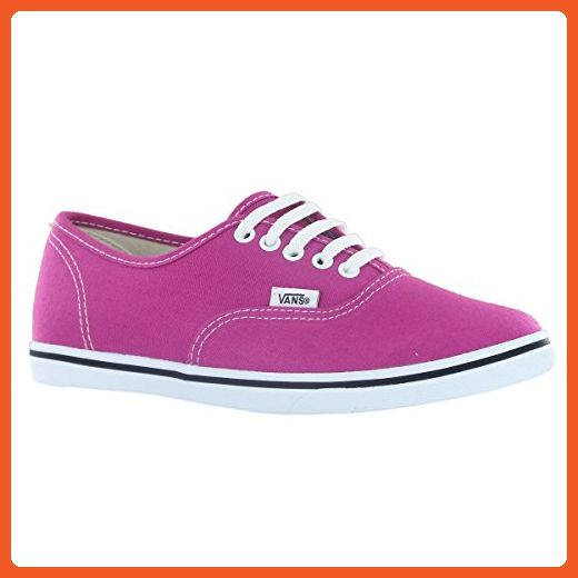 5b151bc43e2760 Vans AUTHENTIC LO PRO (Fuchsia) Red True White Women s Shoes Size 6.5 US -  Sneakers for women ( Amazon Partner-Link)