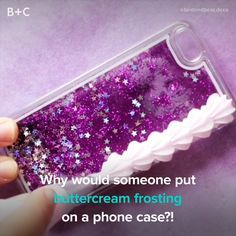 Frosting Phone Cases Are Officially a Thing