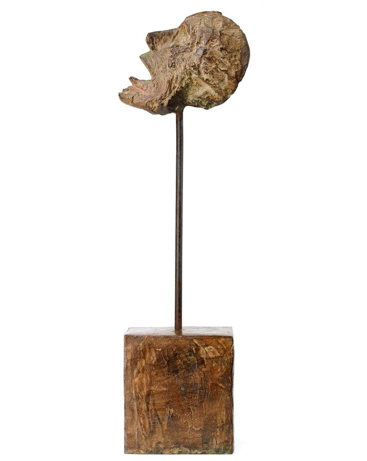 Alberto Giacometti Head Of A Man On A Rod 1947 Museum