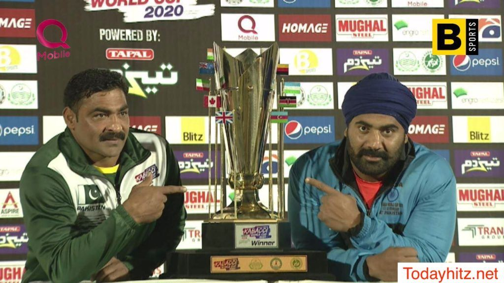 Pakistan Wins After A Close Competition Against India In The Final Match Of The Kabaddi World Cup 2020 The Final Match Wa In 2020 Kabaddi World Cup World Cup Pakistan