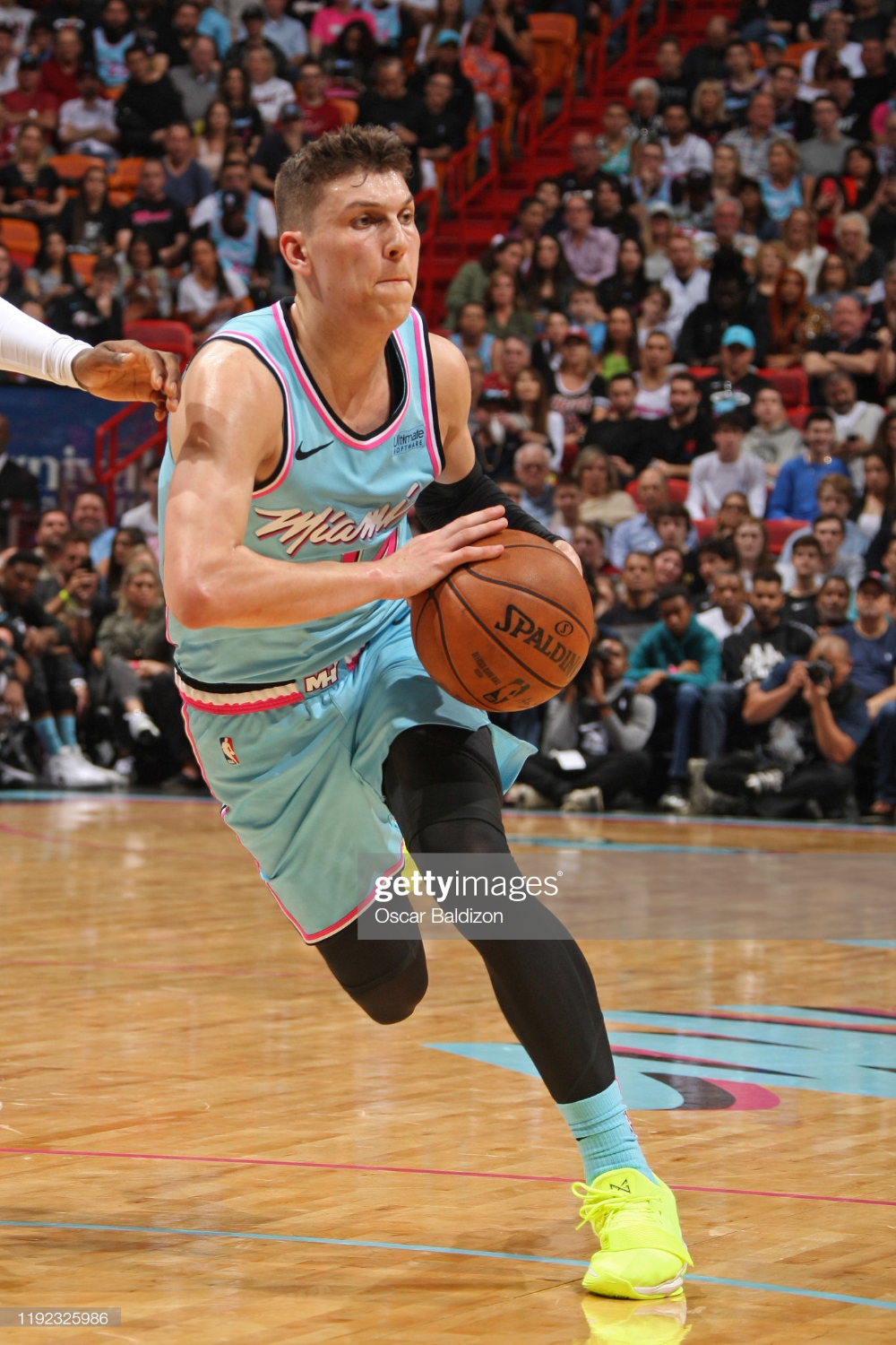 Tyler Herro Of The Miami Heat Drives To The Basket Against The In 2020 Miami Heat Kentucky Athletics Nba Lebron James