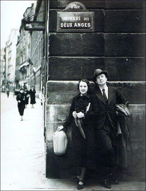 Nusch & Paul Eluard, Impasse des Deux-Anges (1934)