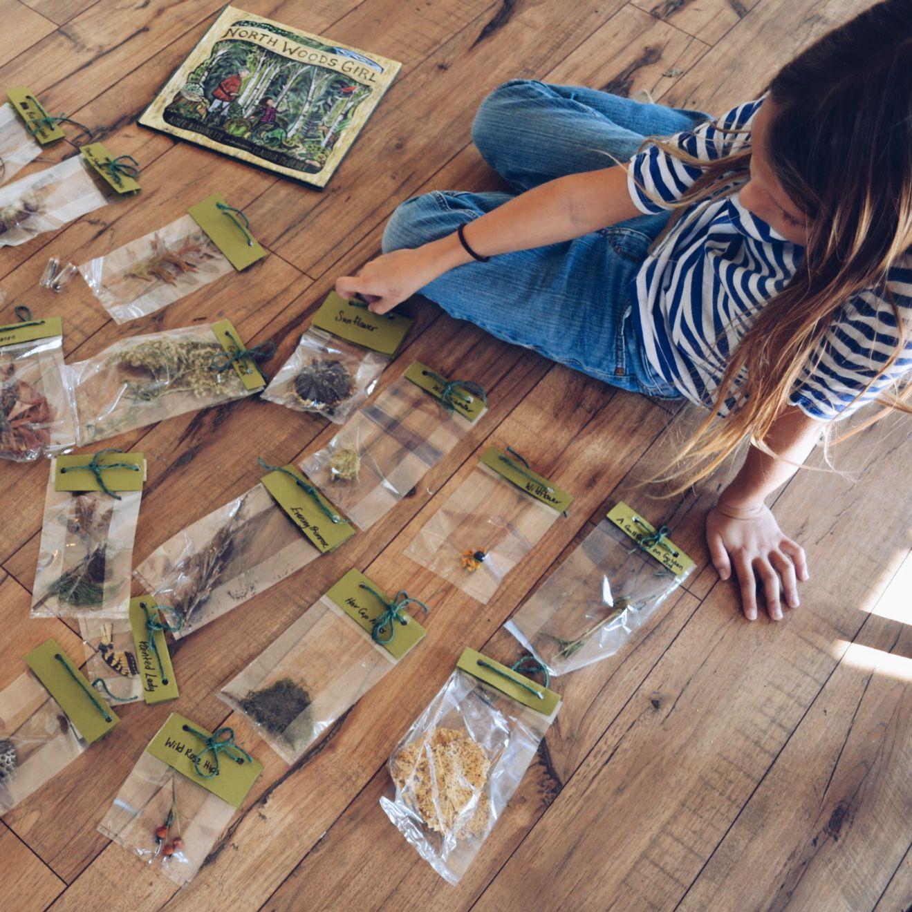 Nature Pal Exchange - nature study activity