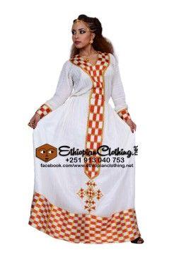 Zemenay Habesha dress | Ethiopian Fashion | Ethiopian