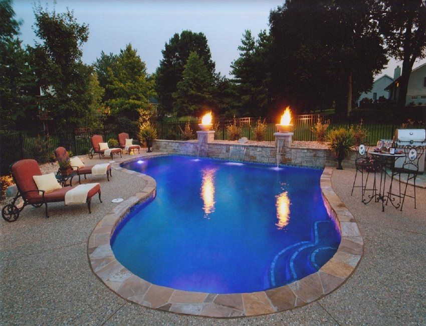 image detail for small backyard inground pools image search results for the home pinterest. Black Bedroom Furniture Sets. Home Design Ideas
