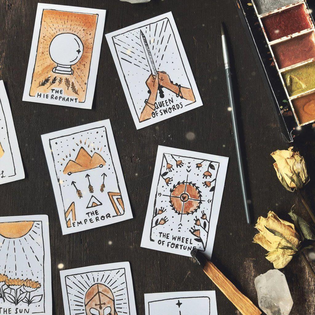 Printable Tarot Deck Diy Tarot Cards Tarot Decks Tarot Card Decks