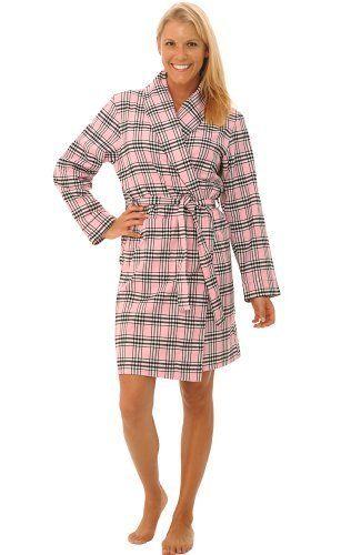 503af31bc796 Del Rossa Women s Cotton Flannel Robe Alexander Del Rossa.  24.99 ...