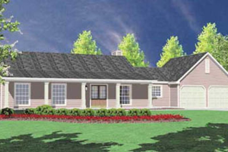 Ranch Style House Plan 3 Beds 2 Baths 1400 Sq Ft Plan