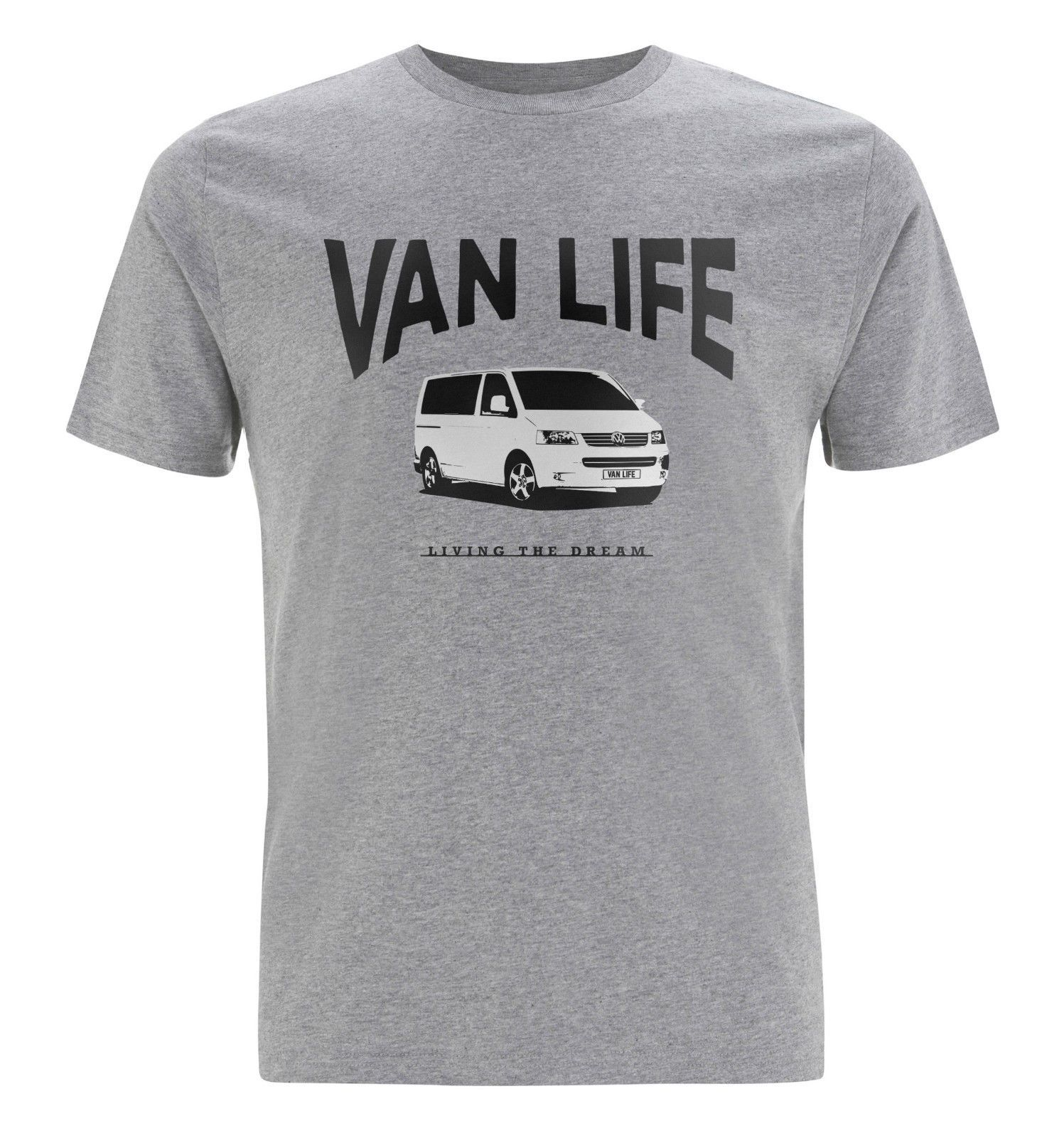 1e1542ec1 VAN LIFE 'VW T5' T-Shirt - Volkswagen, Transporter,Splitscreen, Camper,  Veedub in Clothes, Shoes & Accessories, Men's Clothing, T-Shirts | eBay