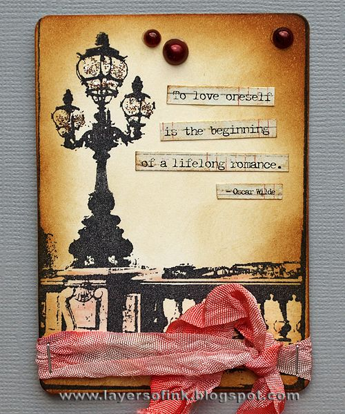 Layers of ink: Love ATC Box Tutorial