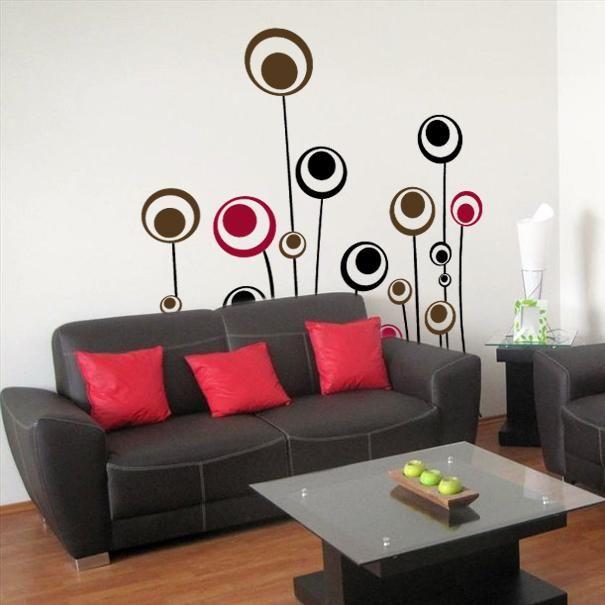 Vinilos decorativos para sus paredes promociones bogot for Adornos decorativos para sala