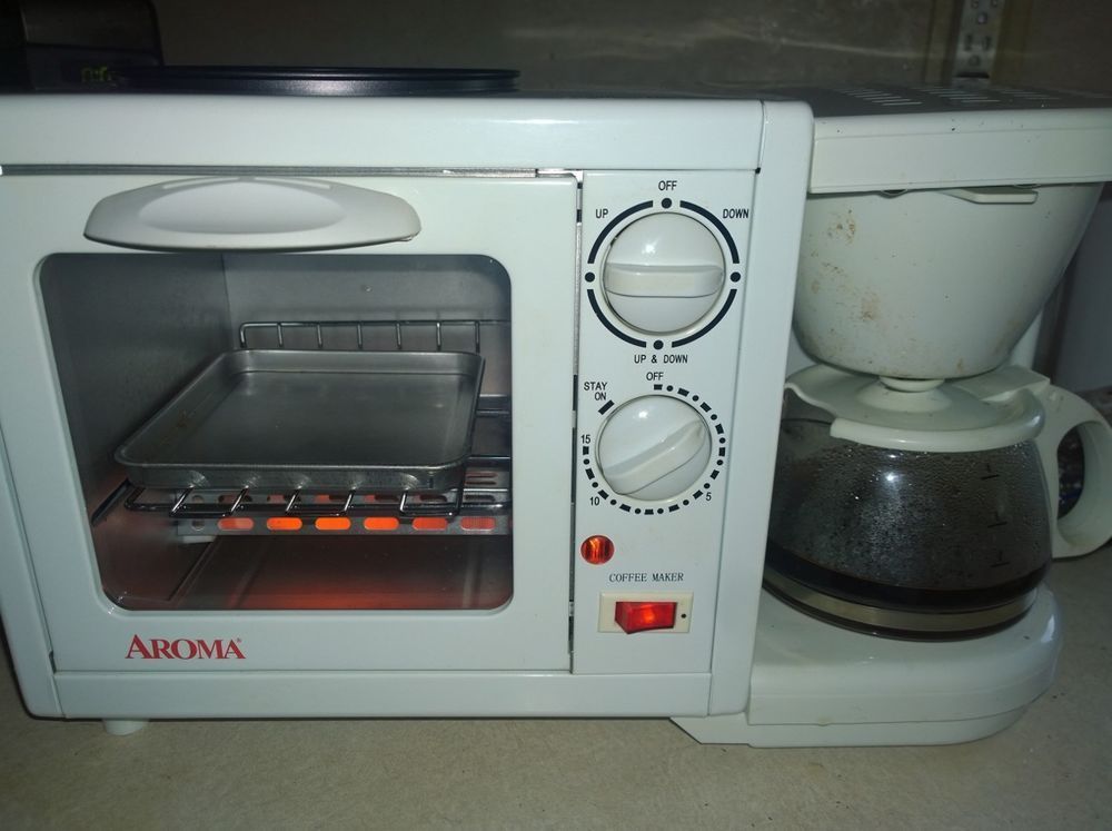 Cup Coffee Maker Toaster And Grill