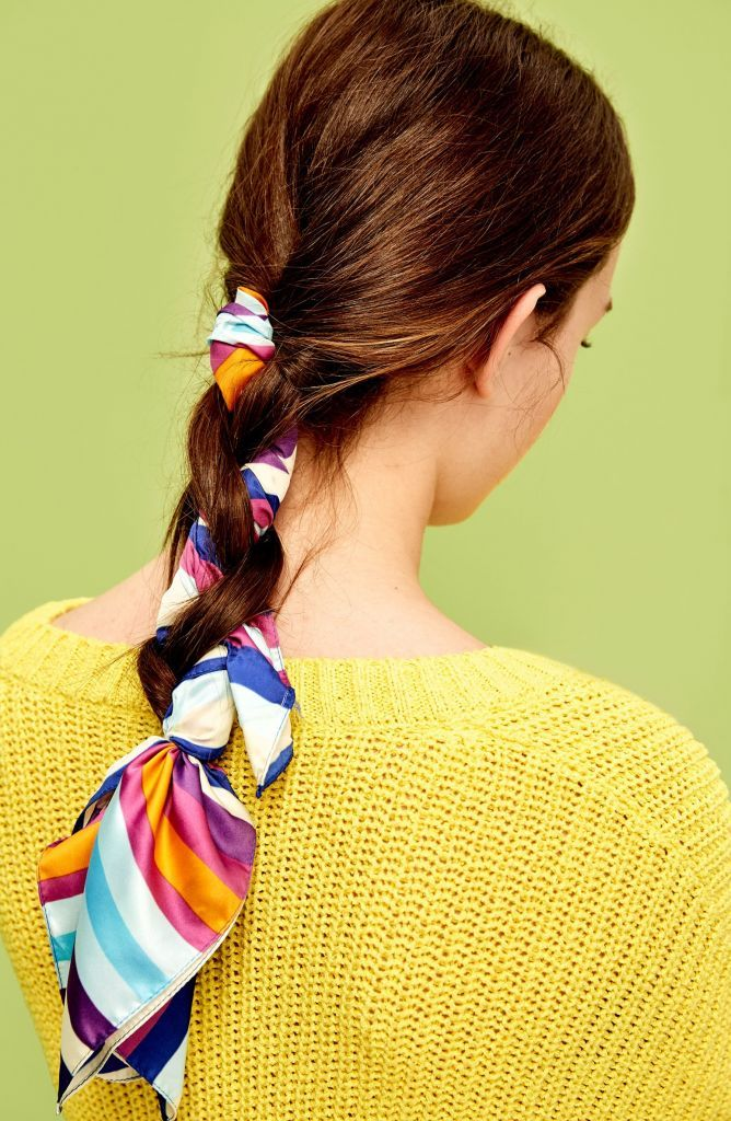 a30b1f19 5 Cool Summer Hairstyles with Scarf | Hairstyles | Pañuelo en el ...