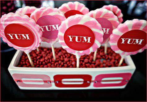 diy candy buffet lollipop displays let s party lollipop display rh pinterest com