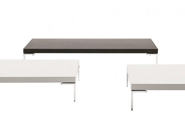 B b italia charles table tables de salon de service for Mobilier salon montreal