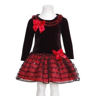 b1ad73521 Fotos de vestidos de niñas para navidad | ropa niños | Vestidos de ...