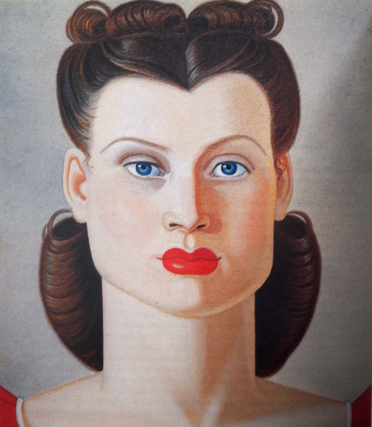Maruja Mayo. Cabeza de mujer, (detalle), 1941.