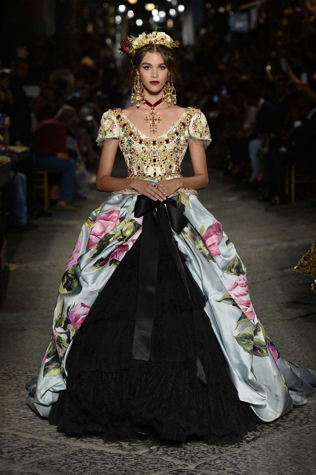 d043ea9f Dolce & Gabbana Alta Moda 2016 | 2017 Basic Trends | Fashion ...