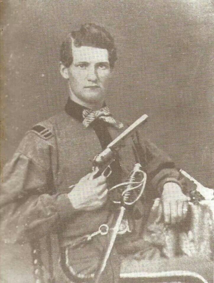 Major Egbert Ross 11th Nc Kia July 1st At Gettysburg
