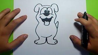 Como Dibujar Un Perro Paso A Paso 19 How To Draw A Dog 19 Youtube Como Dibujar Un Perro Tutorial De Dibujo Perritos Para Dibujar