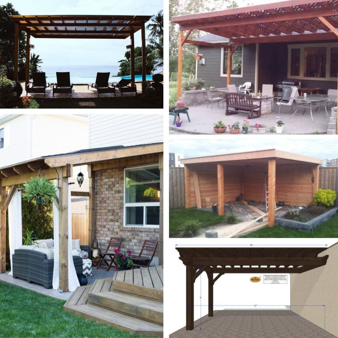 6 simple diy patio cover ideas to make your outdoor spaces