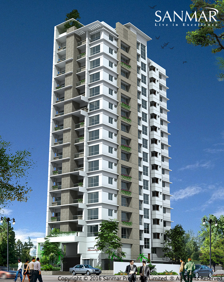 Sanmar Florentina Multi Storied Residential Complex Apartment Lifestyle Chittagong