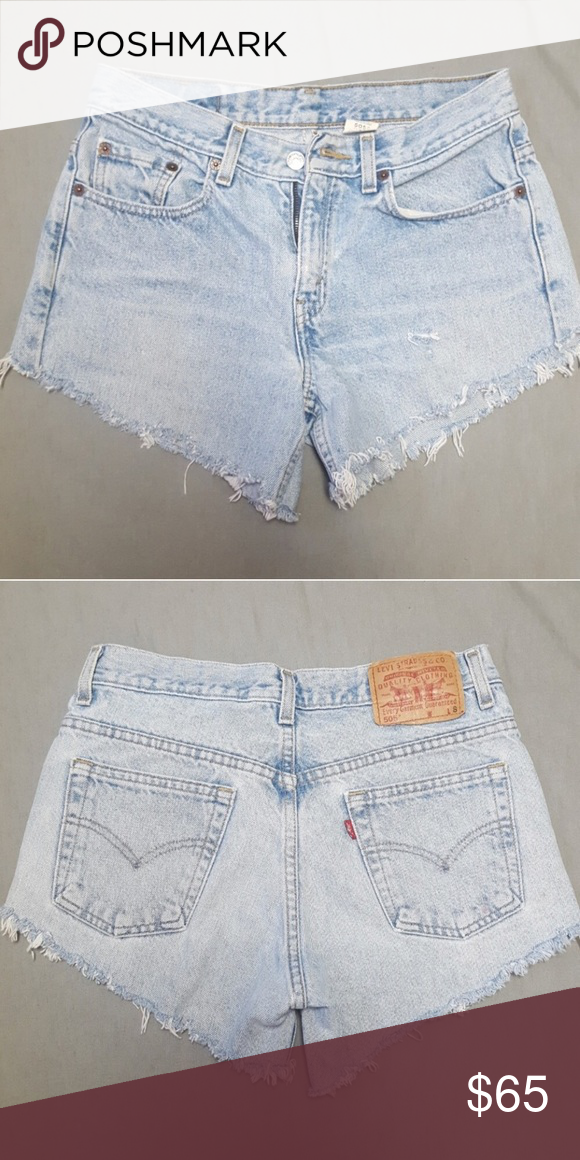 665c693e Vintage Levis 505 cutoff denim shorts Great vintage condition, light wash.  Who needs Urban Renewal or Reformation when u have the internet.