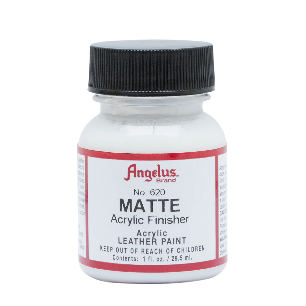 Angelus Acrylic Finisher Matte Vinyl Painted Acrylic Gloss Paint