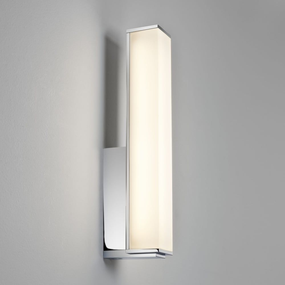 Astro Karla LED IP44 Bathroom Wall Light - Fitting Type from Dusk ...