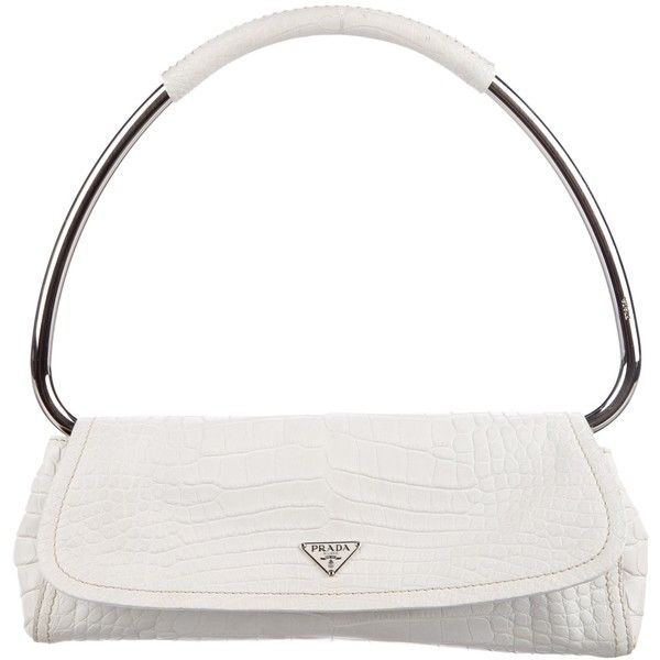 Prada Pre-owned - Crocodile handbag 2YD243w6