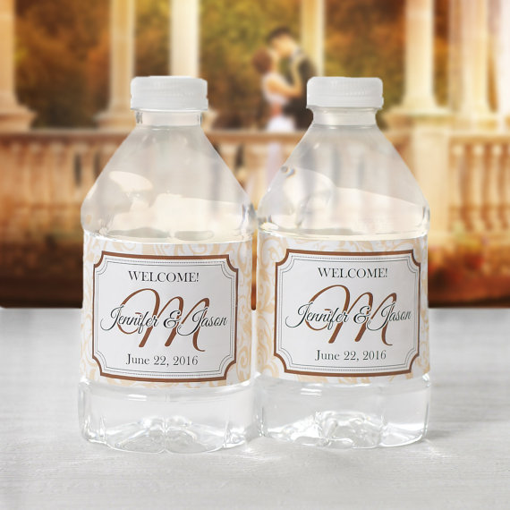 Wedding Water Bottle Labels.Bottled Water Labels Wedding Water Bottle Labels Wedding