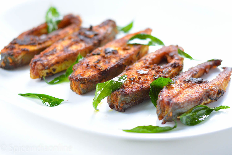 Pomfret Fry (Vavval Meen Varuval) | Seafood Recipes