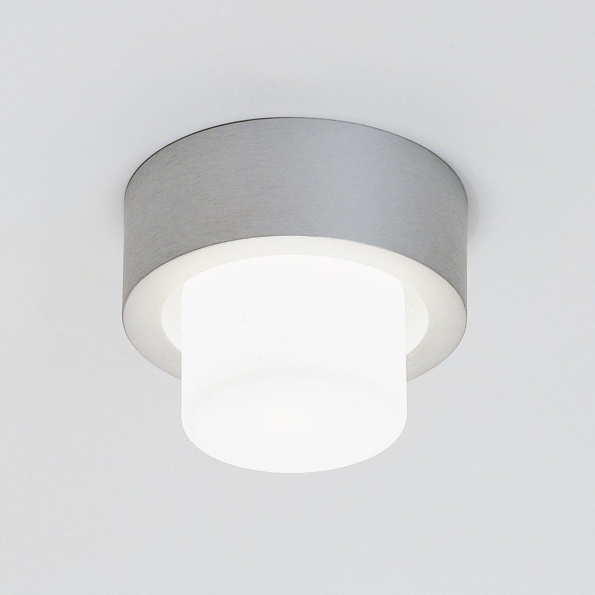 Milan Mini Rondo Wand Deckenleuchte Aluminium Satiniert Mit Bildern Kristall Lampe Deckenleuchten Indirekte Beleuchtung Selber Bauen