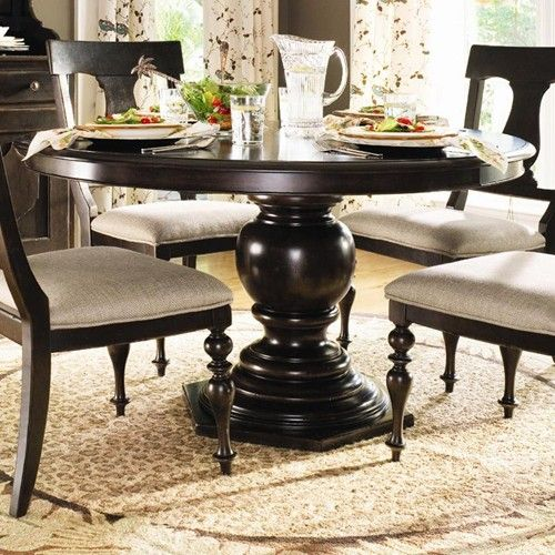 Paula Deen Home Round Pedestal Table By Paula Deen By Universal Baer S Furniture Di Round Pedestal Dining Table Round Pedestal Dining Pedestal Dining Table