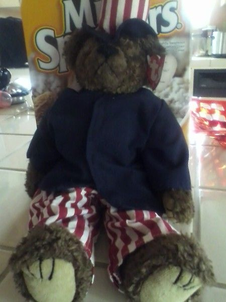 TY Samuel Uncle Sam Beanie Baby  d57fc851f14