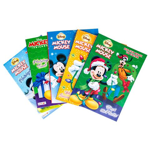 bulk bendon disney christmas coloring books 96 pages at dollartreecom