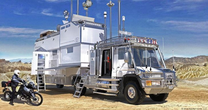 Kiravan mercedes unimog is the ultimate expedition for Mercedes benz recreational vehicles