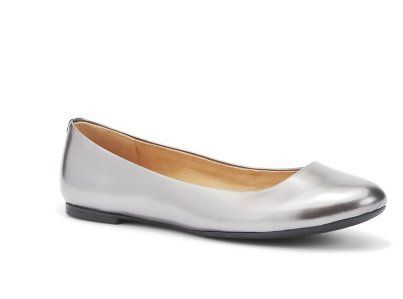 Kenneth Cole Womens The Delight Ballet Flat Pewter 75 pewter >>> You can find more details by visiting the image link.(This is an Amazon affiliate link)