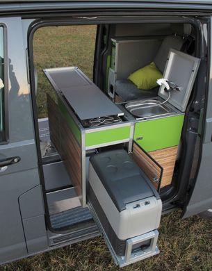 Aussen Klein Und Innen Gross Camper Furniture Van Camping Camper Caravan