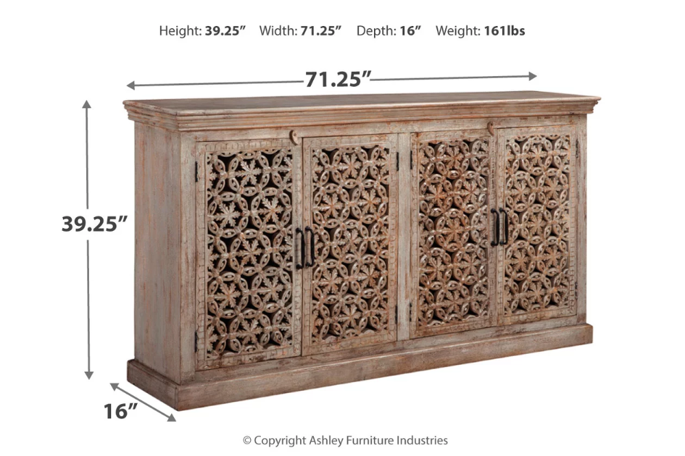 Fossil Ridge Accent Cabinet Ashley Furniture Homestore In 2020 Accent Cabinet Ashley Furniture Industries At Home Store
