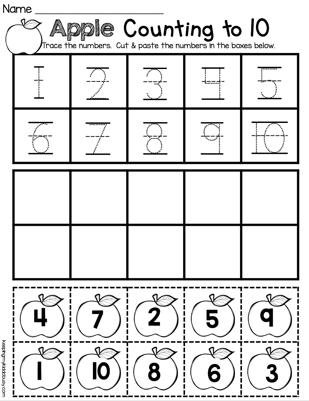September Math And Literacy Pack