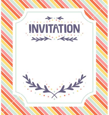 Design your Own Country Invitations Template Tree Country Style - free invitation template word