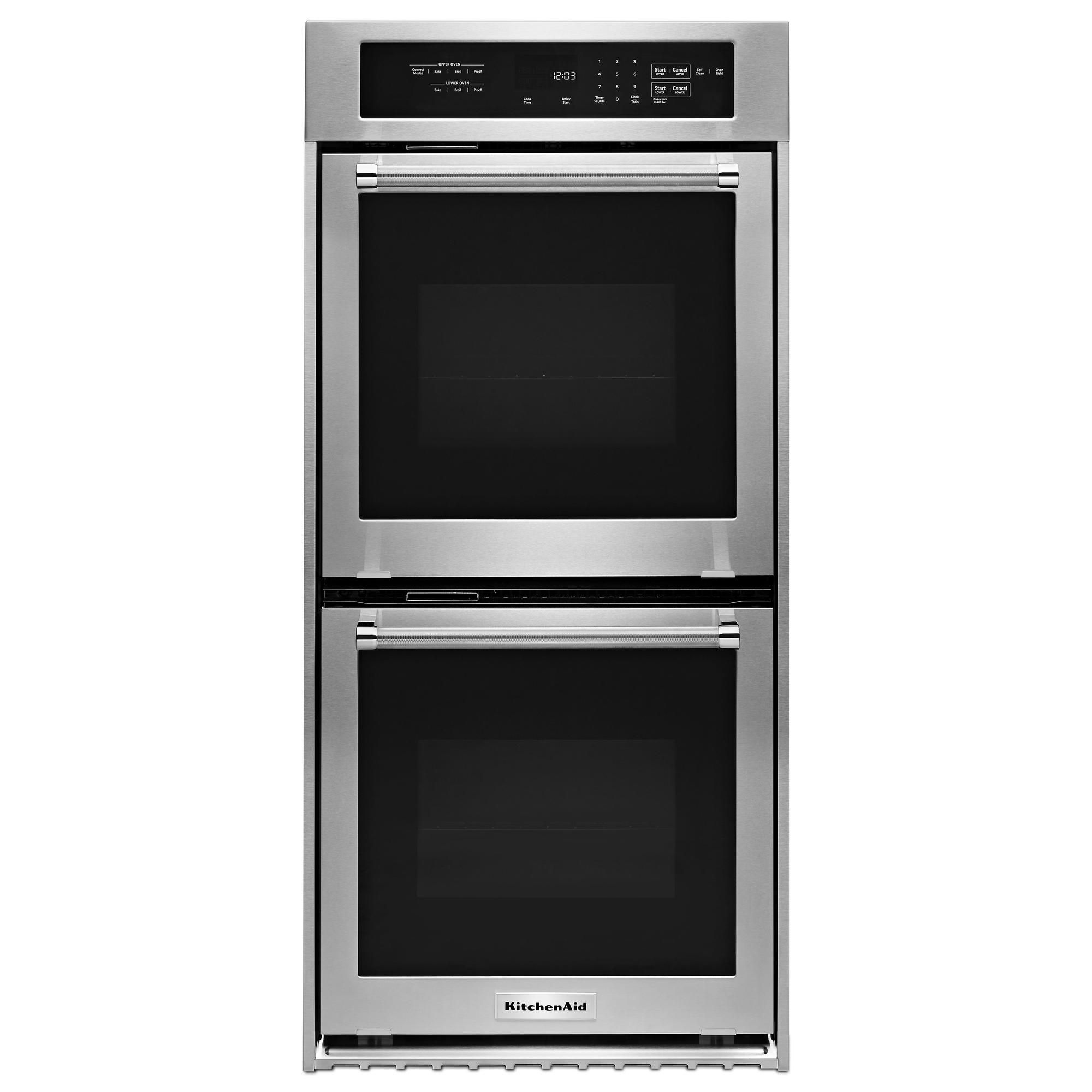 "KitchenAid KODC304ESS 24"" Double Wall Oven w/ True ..."