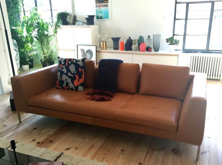 Canapé en cuir Montino d\'Habitat   Déco salon/salle à manger ...