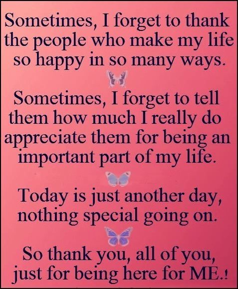 thank you for being there love quotes quotes quote family quotes ...